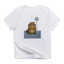 Dennis Woodhill Whiskers Infant T-Shirt