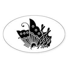 Oda butterfly Stickers