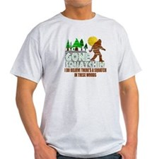 Distressed Original Gone Squatchin Design T-Shirt