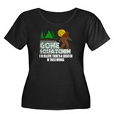 Distressed Original Gone Squatchin Design T