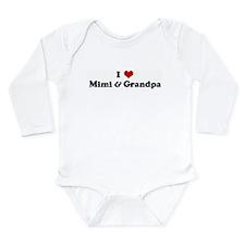 I Love Mimi & Grandpa Body Suit