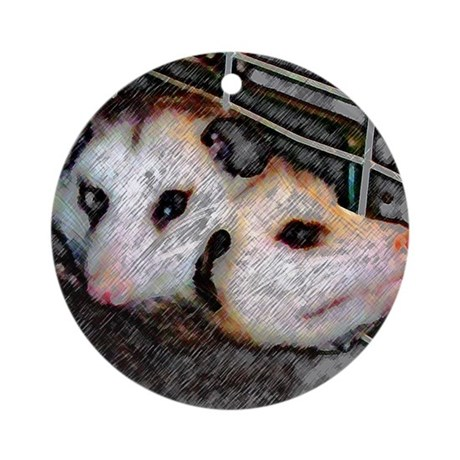 Possum Love Ornament (Round)