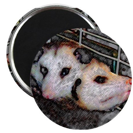 "Possum Love 2.25"" Magnet (10 pack)"