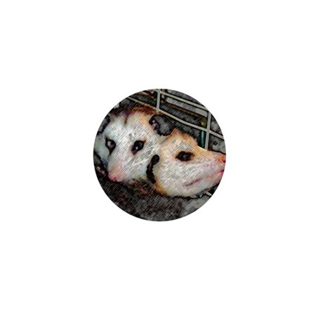 Possum Love Mini Button