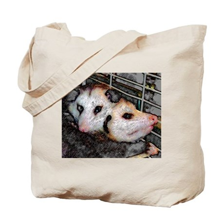 Possum Love Tote Bag