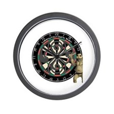 Aurora Darts Team Wall Clock