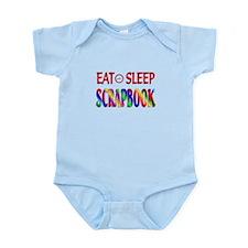 Eat Sleep Scrapbook Infant Bodysuit