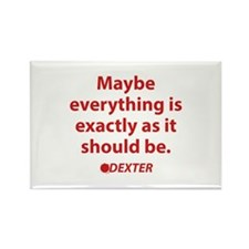 Dexter Quote Rectangle Magnet (100 pack)