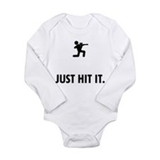Airsofting Long Sleeve Infant Bodysuit