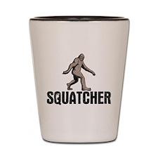 Squatcher Shot Glass