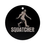 Squatcher Ornament (Round)