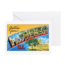 Providence Rhode Island Greetings Greeting Cards (