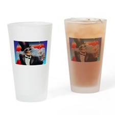Champagne Toast Drinking Glass