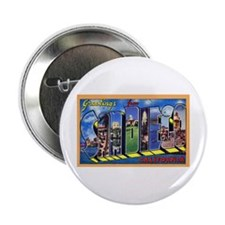 San Diego California Greetings Button