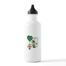 Happy St Water Bottle