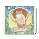 Golden Owl Mousepad