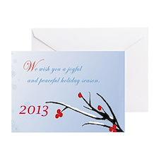 Joyful Season 2 Greeting Cards (Pk Of 10)