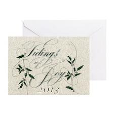 Tidings 3 Greeting Cards (Pk Of 10)