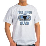 Airborne Dad Ash Grey T-Shirt
