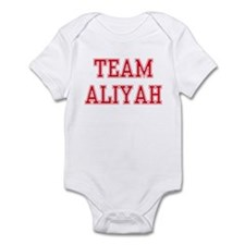 TEAM ALIYAH  Infant Bodysuit