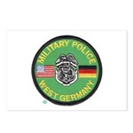 U S Military Police West Germany Postcards (Packag