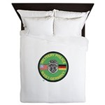 U S Military Police West Germany Queen Duvet