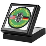 U S Military Police West Germany Keepsake Box