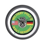 U S Military Police West Germany Wall Clock