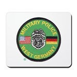 U S Military Police West Germany Mousepad