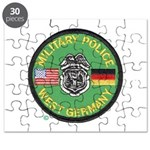 U S Military Police West Germany Puzzle