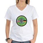 U S Military Police West Germany Women's V-Neck T-