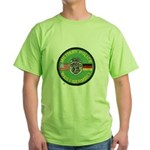 U S Military Police West Germany Green T-Shirt