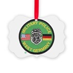 U S Military Police West Germany Picture Ornament