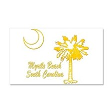 Myrtle Beach 7 Car Magnet 20 x 12