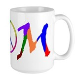 Peace Sign Mom Coffee Mug