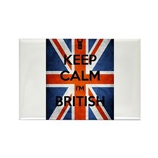 Keep Calm I'm British Rectangle Magnet