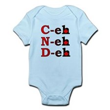 Canada Eh! Funny Canadian T-Shirt Infant Bodysuit