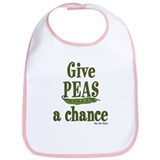 Cute Cancer awareness Bib