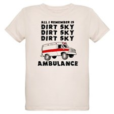 Dirt Sky Ambulance Motocross Mountain Bike T-Shirt