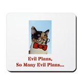Cute Evil cats Mousepad