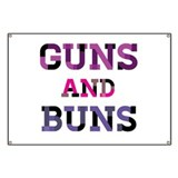 Guns and Buns Banner