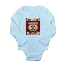 Siberia Route 66 Long Sleeve Infant Bodysuit