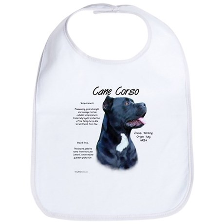 Cane Corso Bib