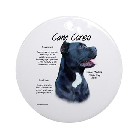 Cane Corso Ornament (Round)