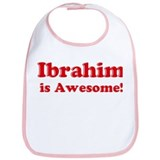 Ibrahim is Awesome Bib