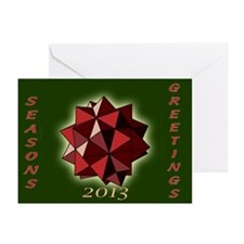 Rhombic Delight Greeting Cards (Pk Of 10)
