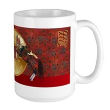 Chinese New Year Year of the horse Ceramic Mugs