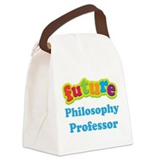 Future Philosophy Professor Canvas Lunch Bag