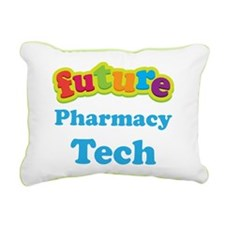 Future Pharmacy Tech Rectangular Canvas Pillow
