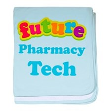 Future Pharmacy Tech baby blanket